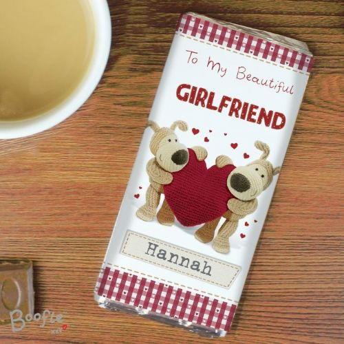 Boofle Shared Heart Chocolate Bar
